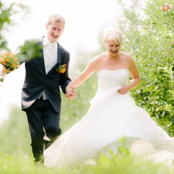Spätsommerliche Hochzeit auf Schloss Weesenstein und Gut Gamig
