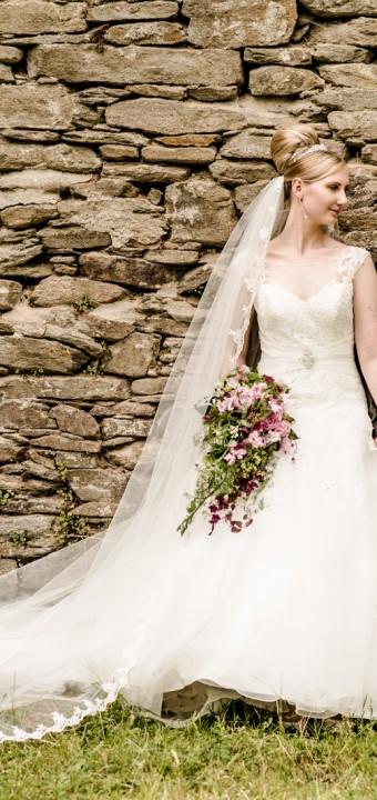 Emotionale Hochzeit auf Schloss Wolkenstein bei Marienberg