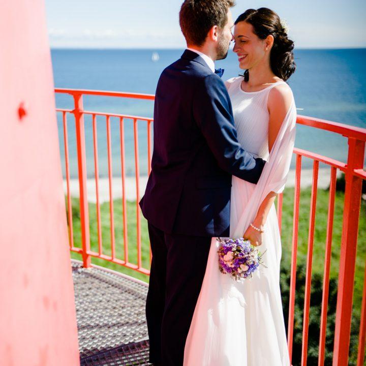 Leuchtturm Hochzeit an der Ostsee