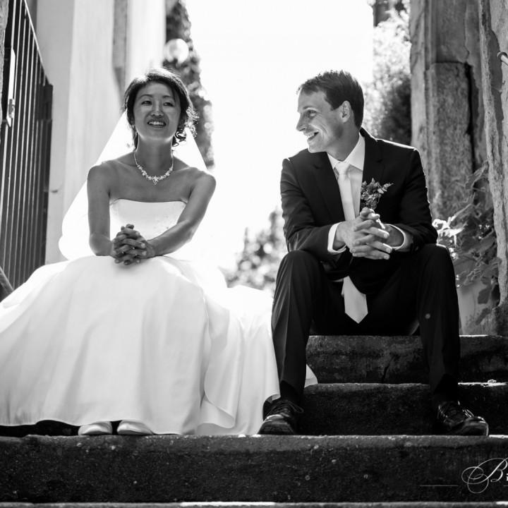 Deutsch-Japanische Hochzeit auf Schloss Albrechtsberg in Dresden