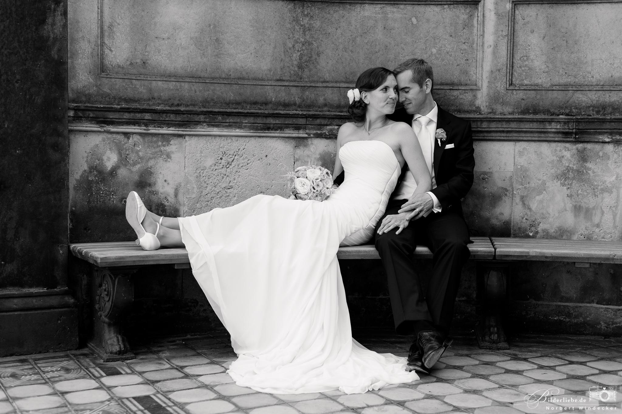 Hochzeitsfotos & Reportagen in Dresden - Schloss Albrechtsberg