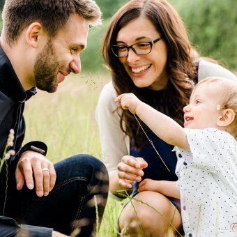 Wunderbares Familien Fotoshooting